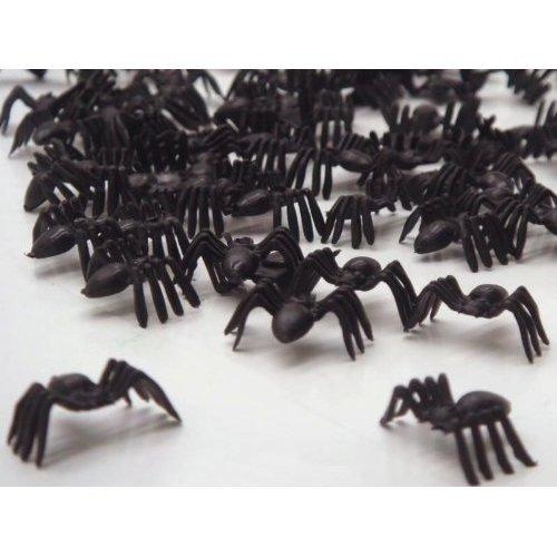Liroyal Black Spiders horror halloween loot toys Sprinkles