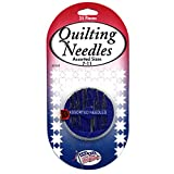 Sullivans Quilting Needles Compact, 25 each, pack of 6