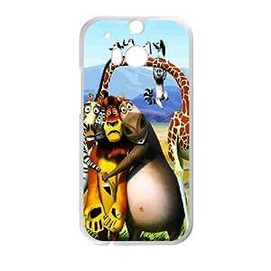 Custom Case Madagascar for HTC One M8 M2C4237598