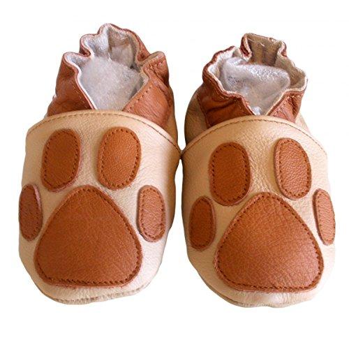 «pata de oso» zapatillas piel sintética flexible. bbkdom & Chic-Soft Varios Colores - multicolor