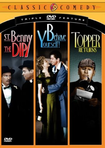 Classic Comedy Triple Feature, Vol. 2 - St. Benny the Dip / Behave Yourself / Topper Returns ()