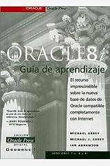 Oracle 8i Guia De Aprendizaje Paperback