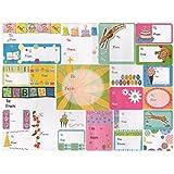 amazon com minilabel happy birthday gift and present tags self