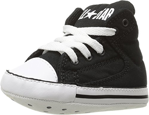 - Converse Chuck Taylor All Star First Star Black/Black/White (1 Infant M)