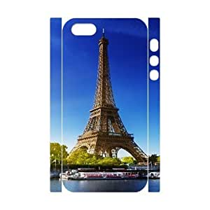 3D For HTC One M8 Phone Case Cover Eiffel Tower Paris Autumn Cheap For Boys, For HTC One M8 Phone Case Cover Luxury Cheap For Boys [White]