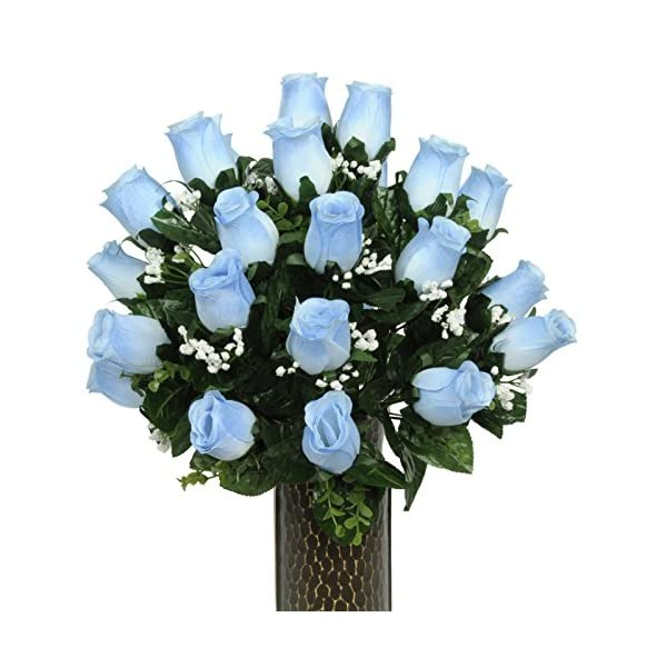 Blue-Roses-Artificial-Bouquet-featuring-the-Stay-In-The-Vase-Designc-Flower-Holder-SM1589