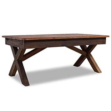 Naturel Scandi Bois 120x60x42 120x60 Couleur Cm Table Basse q5S4A3cRjL