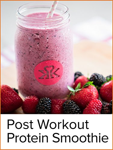 Berry Blast Post-Workout Protein Smoothie