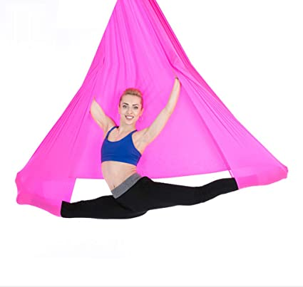 Amazon.com : Aerial Yoga Hammock, 5 Meters x 2.8 Meters ...