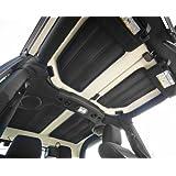 Rugged Ridge 12109.04 Black Hardtop Sound Deadener/Insulation for 4-Door Jeep Wrangler