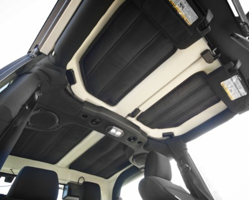 Rugged Ridge 12109.03 Hardtop Headliner Roof Insulation Kit for 2011-2018 Jeep Wrangler JK, 2 Door