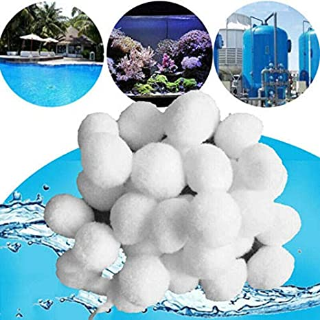 Amazon.com : Hbitsae Pool Filter Balls Eco-Friendly Fiber Media ...