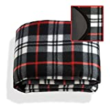 Fix Find Waterproof & Windproof Fleece Stadium Picnic Blanket