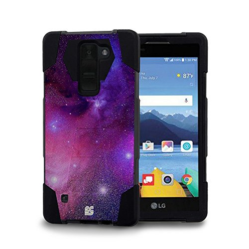 Click to buy LG K8 V (Verizon) - [Nebula] Dual Armor Kickstand Case, Atom LED and Sync & Charge Micro USB Data Cable [3 ft.] - From only $16.99