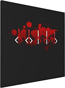 Canvas Prints Wall Art Paintings(20x20in) Bloodborne Hunters Mark Pictures Home Office Decor Framed Posters & Prints