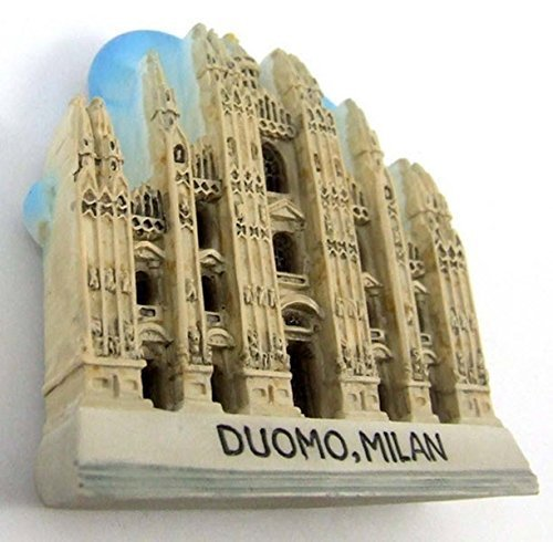 Duomo, MILAN ITALY SOUVENIR RESIN 3D FRIDGE MAGNET SOUVENIR TOURIST GIFT 041 by Mr_air_thai_Magnet_World by Mr_air_thai_Magnet_World
