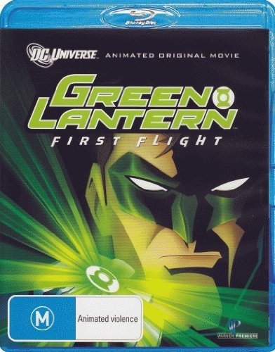 Green Lantern: First Flight [Animated] [NON-USA Format / PAL / Region B Import - Australia]