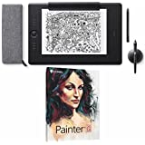 Wacom Intuos Pro Digital Graphic Drawing Pen Tablet Large Paper Edition PTH860P with Corel Painter 2018 Academic
