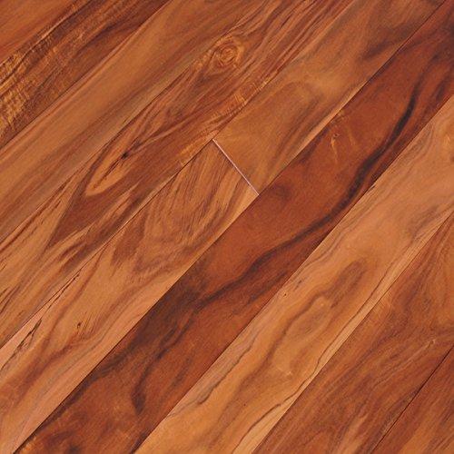 Walnut Floor Hardwood Flooring - Acacia Walnut Golden Sagebrush Plank Solid Hardwood Floor (Sample)