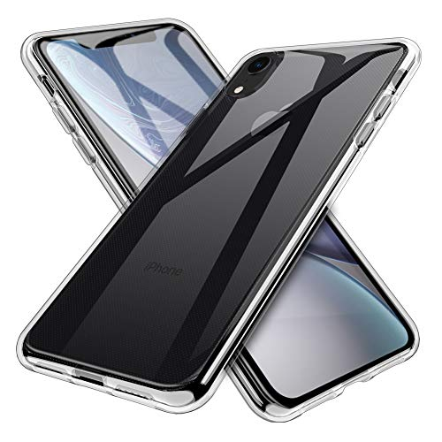 INGLE Compatible with iPhone XR Case,Ultra [Slim Thin] TPU Silicone Soft TPU Protective case Cover – Clear