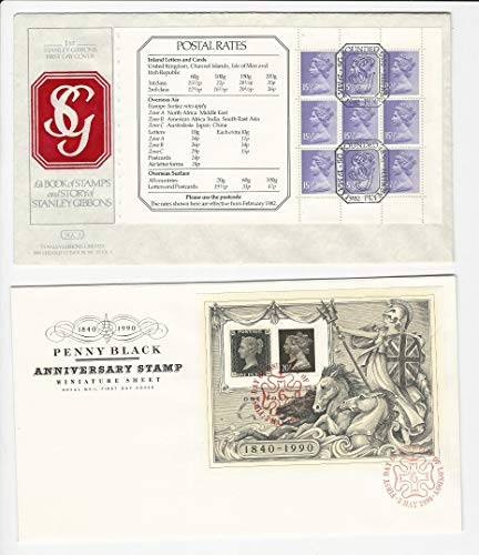 Great Britain, Postage Stamp, MH92b, MN193F Covers, Machin Queen, JFZ