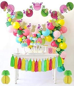 PomPomGLAM - Kit Completo de decoración para Fiestas de ...