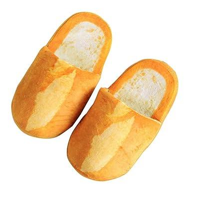 096a895bbb3 Women Winter 3d Bread Slippers Indoor