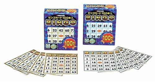 Bingo Karte 100 Hanayama AOTHN-1HBG6093