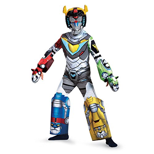 Kids Awesome Costumes (Voltron Deluxe Costume, Multicolor, Medium)