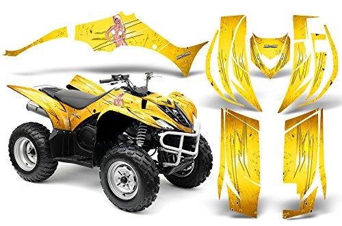 CreatorX Yamaha Wolverine 2006-2012 Graphics You Rock Yellow -  CXAMZ008407