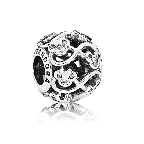 NEW Pandora Sterling Silver 925 European Charm Disney Minnie and Mickey Infinity