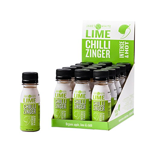 Zinger - Natural Wellness Shots 2.4 Oz (15 count) (Organic Lime & Chilli)