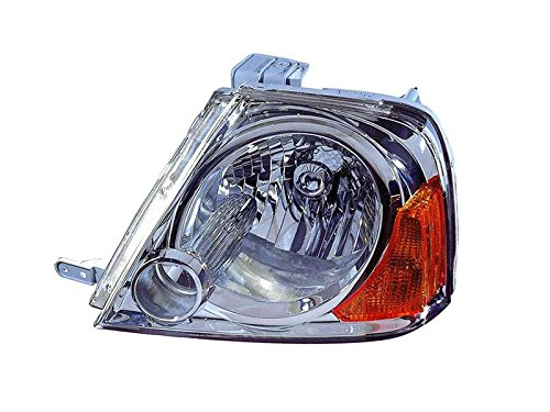 Depo 318-1106L-US Suzuki XL-7 Driver Side Replacement Headlight Unit without Bulb