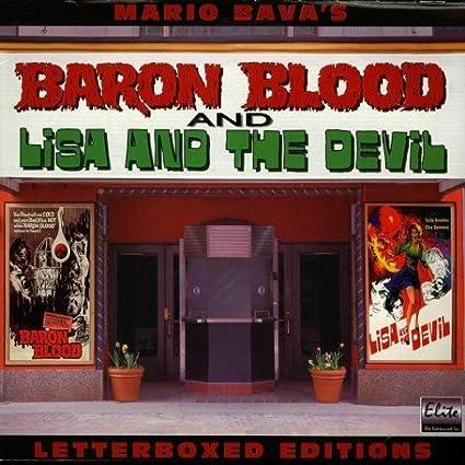 Amazoncom Baron Bloodlisa The Devil Mario Bava Collection