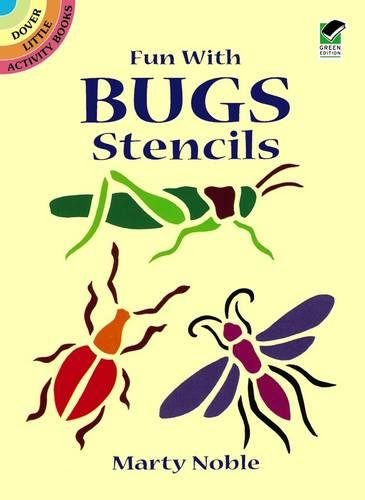 Fun with Bugs Stencils (Dover Stencils) (The Best Airbrush Kit)