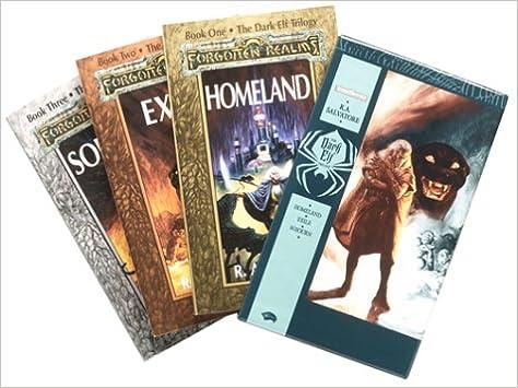 The Dark Elf Trilogy Gift Set (Homeland + Exile + Sojourn): R A