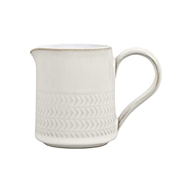 Denby USA Natural Canvas Textured Small Jug