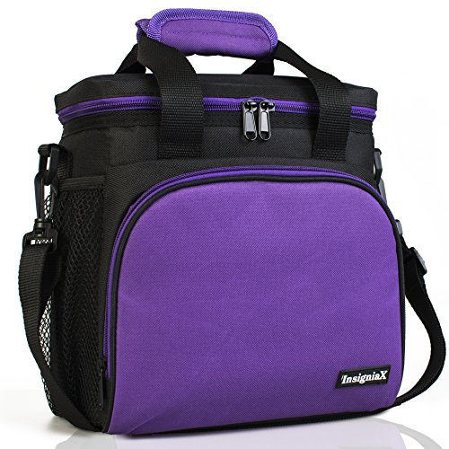 Insulated Lunch Bag: InsigniaX Adult  Thermal Tote Picnic St