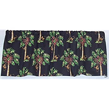 Amazon Com Window Curtain Valance Palm Springs With