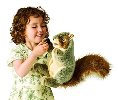 Gray Squirrel Puppet from Folkmanis Puppets