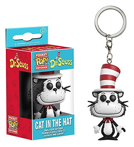 Funko Pop Keychain: Dr. Seuss Cat in the Hat Toy Figure