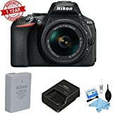 Nikon D5600 DSLR Camera with 18-55mm Lens w/Cleaning Kit