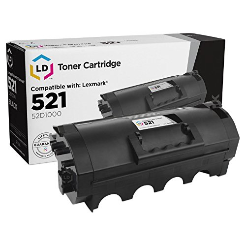 LD © Compatible Replacement for Lexmark 52D1000 Black Laser Toner Cartridge for Lexmark MS810de, MS810dn, MS810dtn, MS810n, MS811dn, MS811dtn, MS811n, MS812de, MS812dn, & MS812dtn