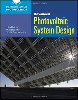 Advanced Photovoltaic System Design price comparison at Flipkart, Amazon, Crossword, Uread, Bookadda, Landmark, Homeshop18