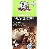 PATSYPIE Organic Cantuccini Mini Chocolate Biscotti-Gluten Free, 165g