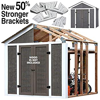 Amazon com : Fast Framer Universal Storage Shed Framing Kit : Garden