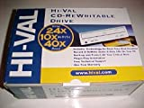 Hi-Val 24x10x40x CDRW Drive