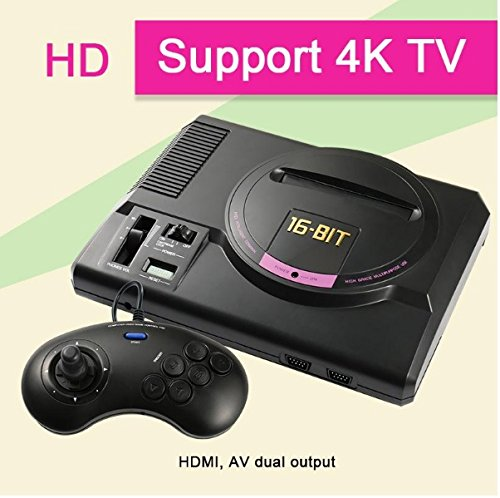SEGA Genesis HDMI Video Game Console Handheld Game Players HDMI TV Out with wireless controllers(shipping from china)