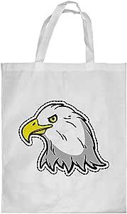 Printed Shopping bag, Small Size, Cartoon Drawings - Eagle