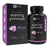 #4: Evening Primrose Oil (1300mg) 120 Liquid Softgels, Cold-Pressed with No fillers or Artificial Ingredients; Non-GMO & Gluten Free, Made in the USA